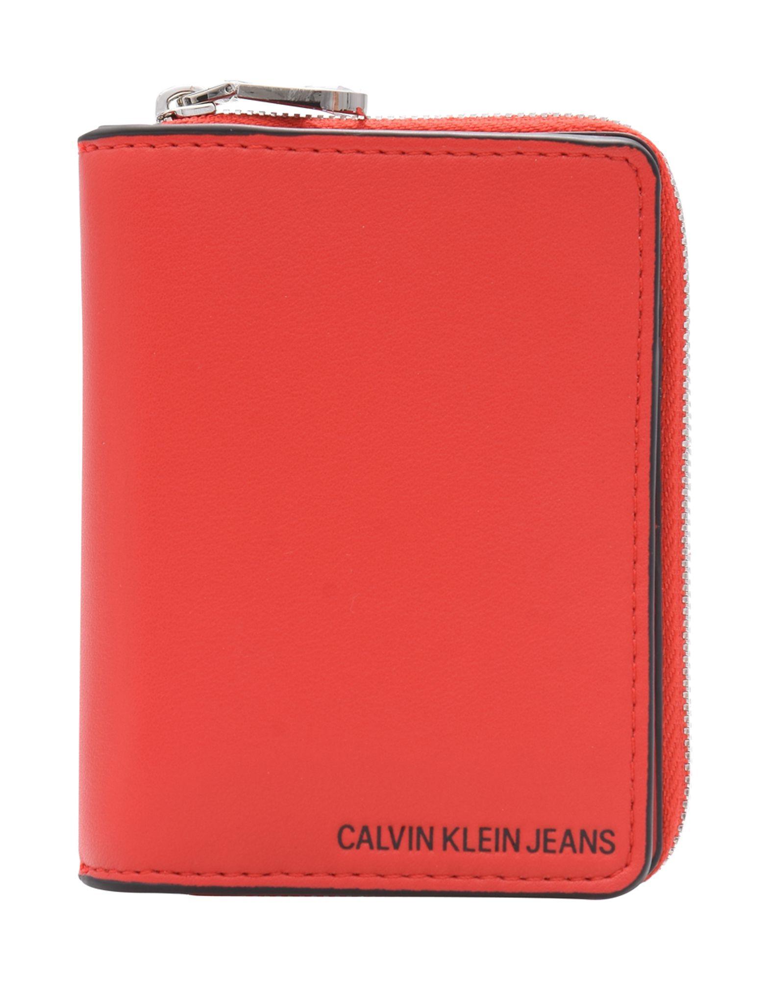 CALVIN KLEIN JEANS Бумажник calvin klein бумажник