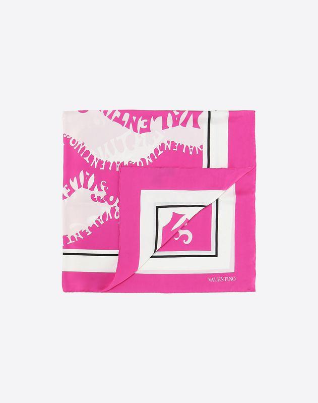 "Silk twill foulard 90x90 cm / 35.4x35.4"""