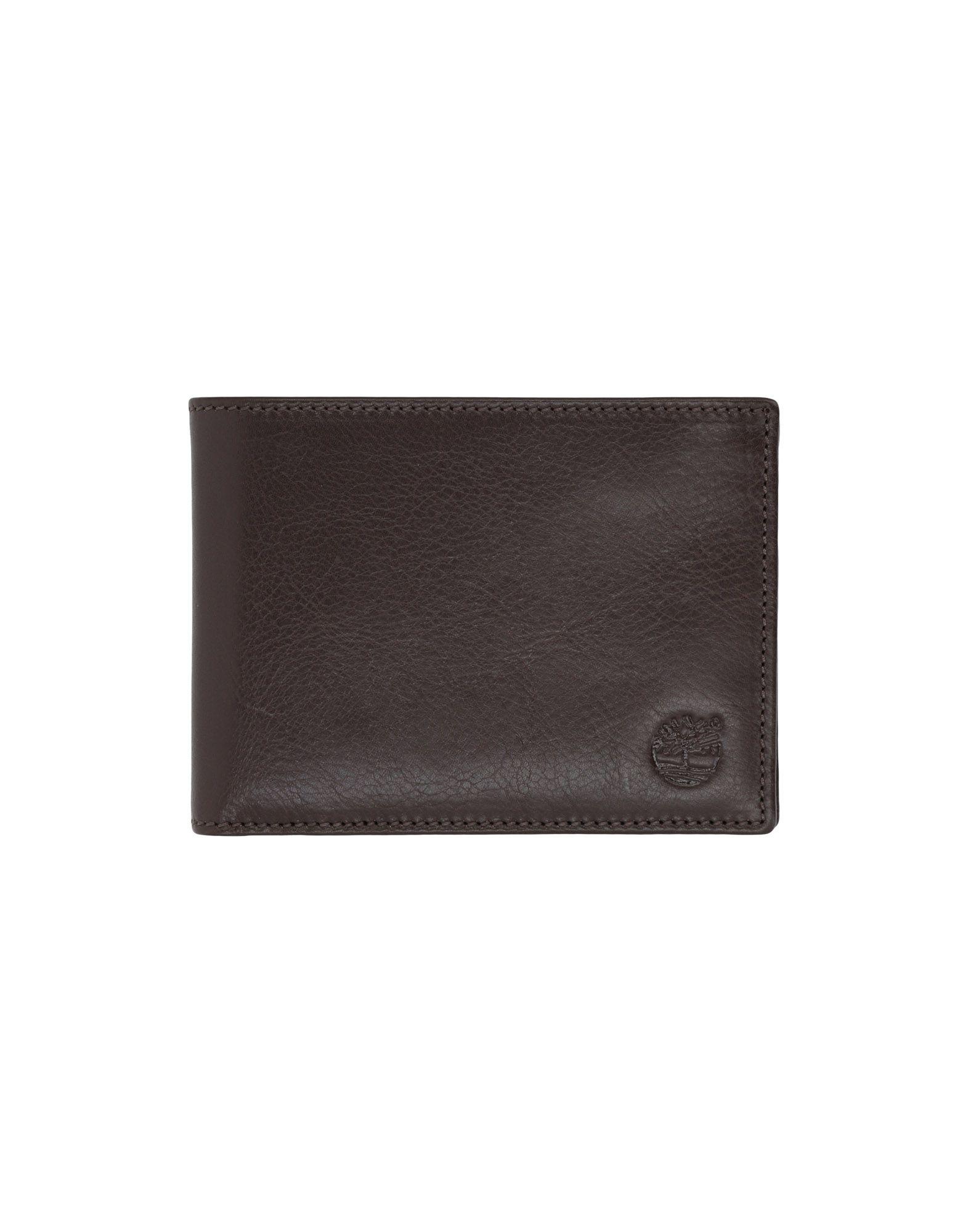 《送料無料》TIMBERLAND メンズ 財布 ダークブラウン 革