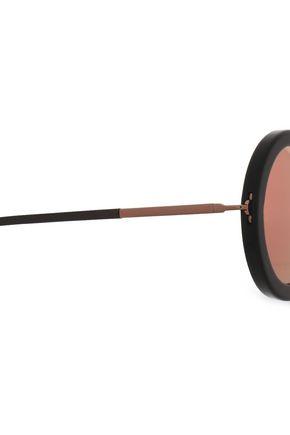 SUNDAY SOMEWHERE Isabella round-frame acetate sunglasses