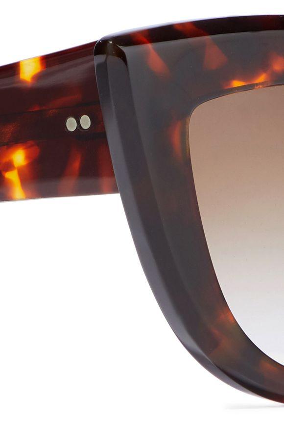 f92497f3d573a Quixote cat-eye tortoiseshell sunglasses