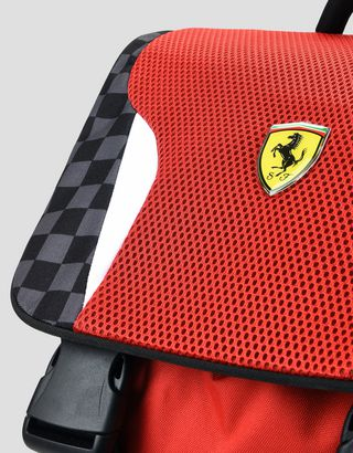 Scuderia Ferrari Online Store - Scuderia Ferrari expandable backpack with complimentary toy car -