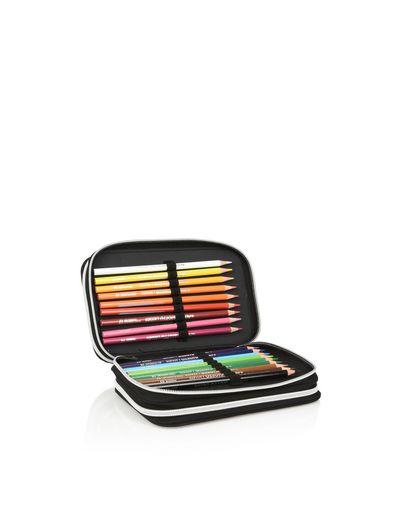 Scuderia Ferrari Online Store - Scuderia Ferrari pencil case with stationery set - Pencil Cases
