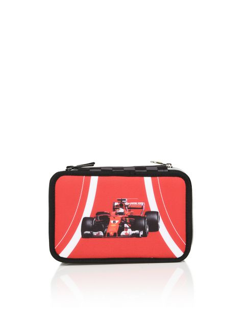 Scuderia Ferrari pencil case with stationery set