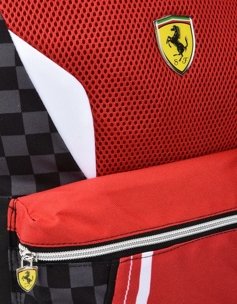 Scuderia Ferrari Online Store - Zaino americano Scuderia Ferrari - Zaini Scuola