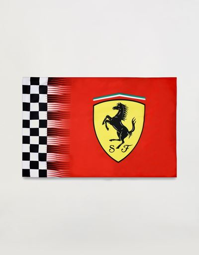 Scuderia Ferrari flag with Shield