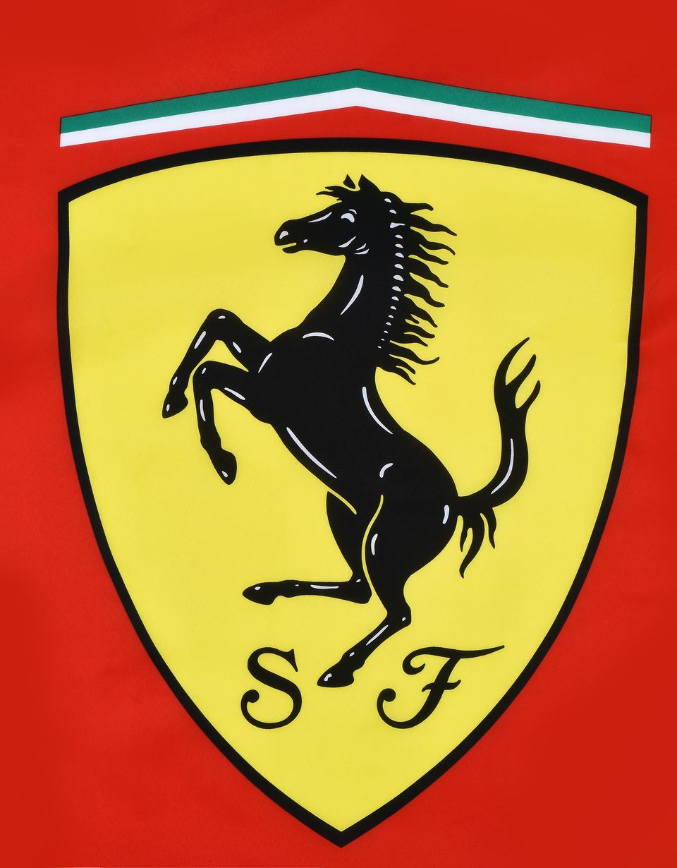 Scuderia Ferrari Online Store - Scuderia Ferrari flag with Shield - Flags