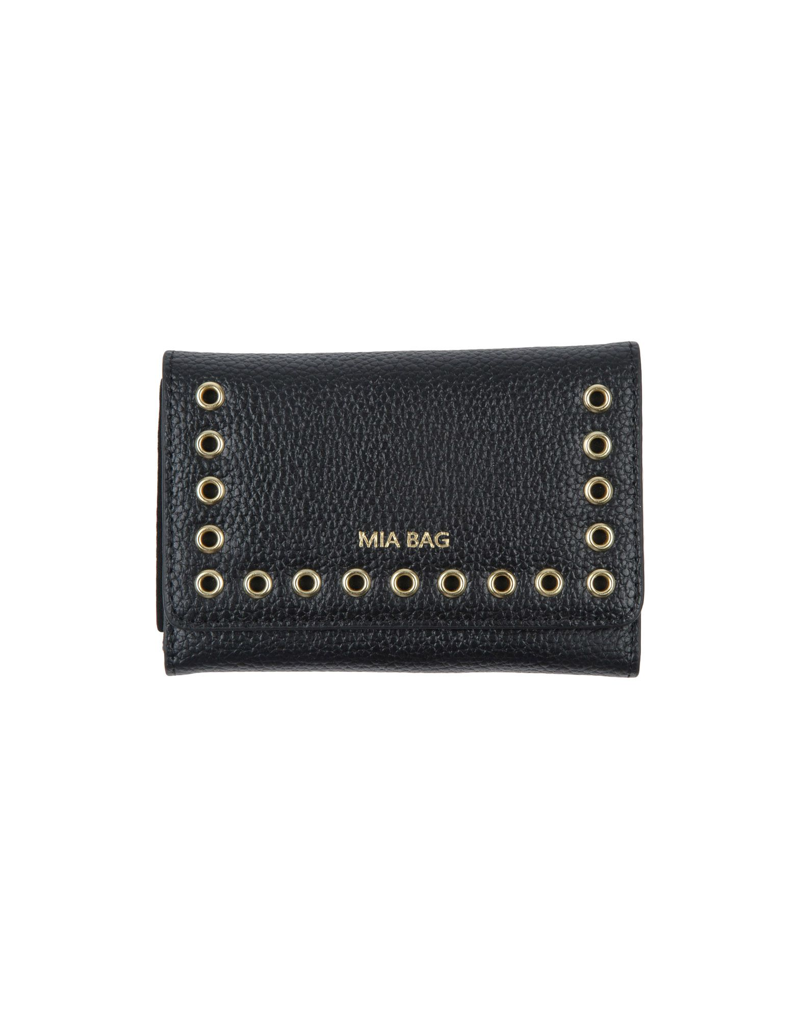 MIA BAG レディース 財布 ブラック 革