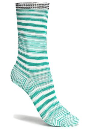 MISSONI Crochet-knit socks