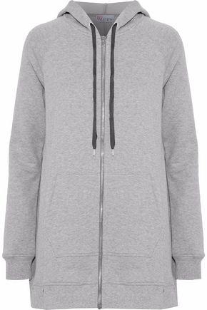 REDValentino Cotton-jersey hooded sweatshirt