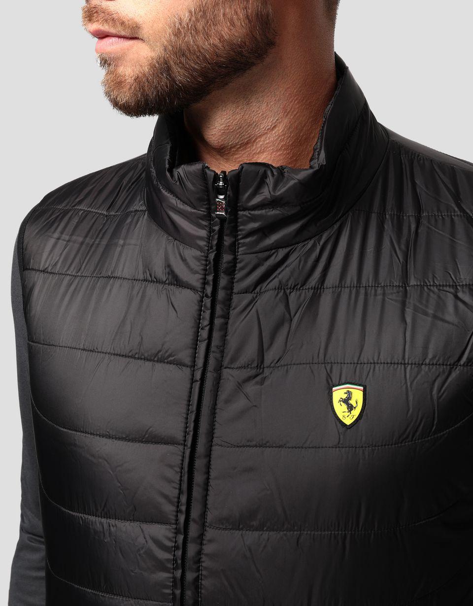 Scuderia Ferrari Online Store - Men's padded gilet - Vests