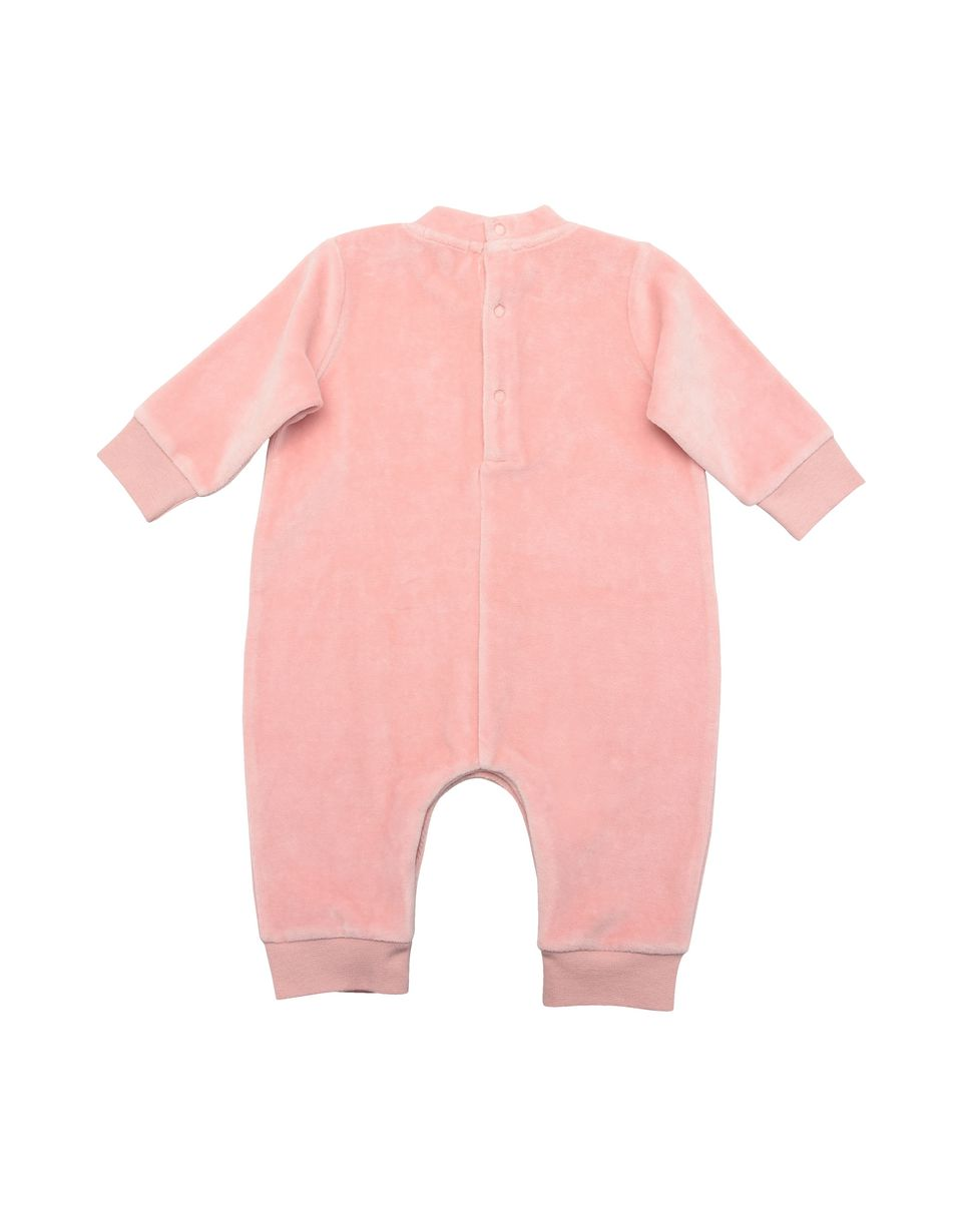 Scuderia Ferrari Online Store - Baby girl all-in-one in chenille - Jumpsuits