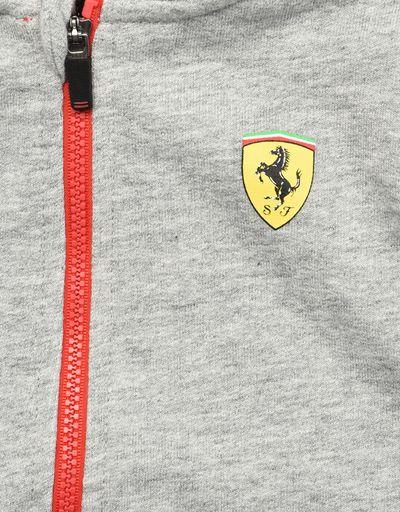 Scuderia Ferrari Online Store - Infant cotton sweatshirt with fleece lining - Zip Hood Jumpers