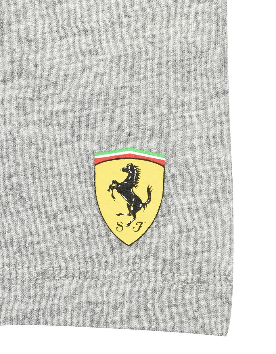 Scuderia Ferrari Online Store - Metal keyring with Ferrari Shield - Long Sleeve T-Shirts
