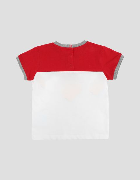 Two-tone infant T-shirt with Shield