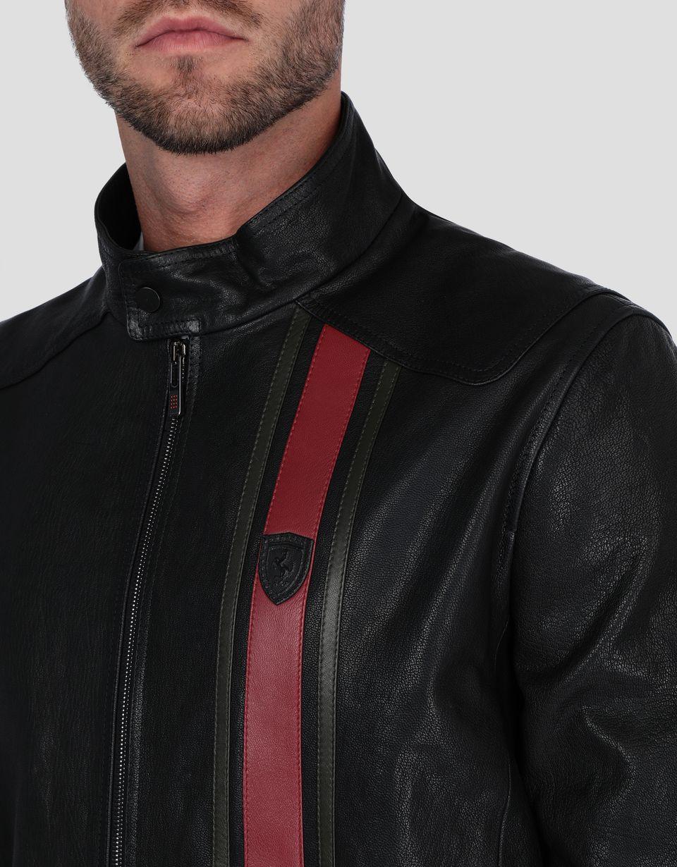 Scuderia Ferrari Online Store - Giacca uomo in pelle - Giacche in Pelle