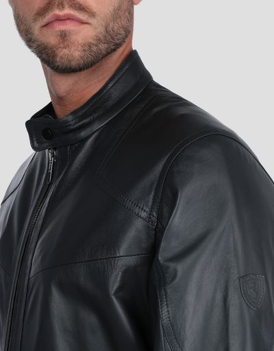 Men's jacket in lambskin nappa leather