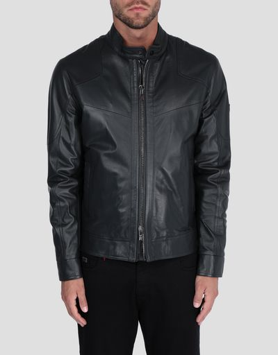Men's nappa lambskin jacket