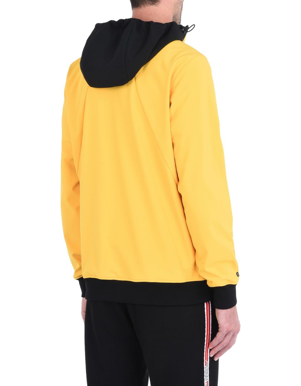 Scuderia Ferrari Online Store - Men's softshell hooded jacket - Bombers & Track Jackets