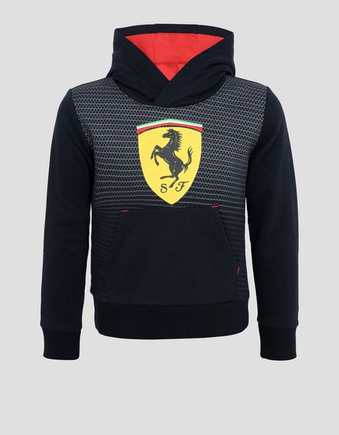 Sweat-shirt enfant avec Scudetto