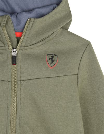 Scuderia Ferrari Online Store - Children's hooded sweatshirt - Zip Hood Sweaters