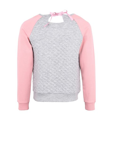 Sweat-shirt jacquard fille