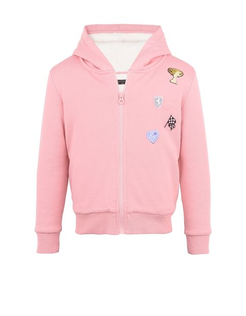 Girls' heavy sweatshirt