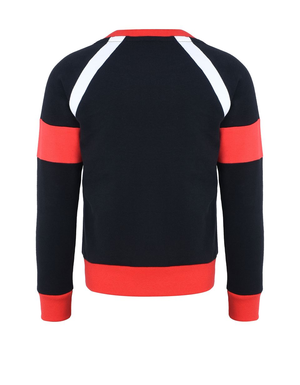 Scuderia Ferrari Online Store - Children's sweatshirt with knit inserts - Crew Neck Sweaters