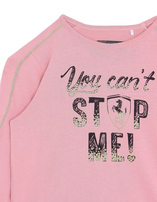 Scuderia Ferrari Online Store - Girls' ʺYou can't stop me!ʺ sweatshirt - Long Sleeve T-Shirts