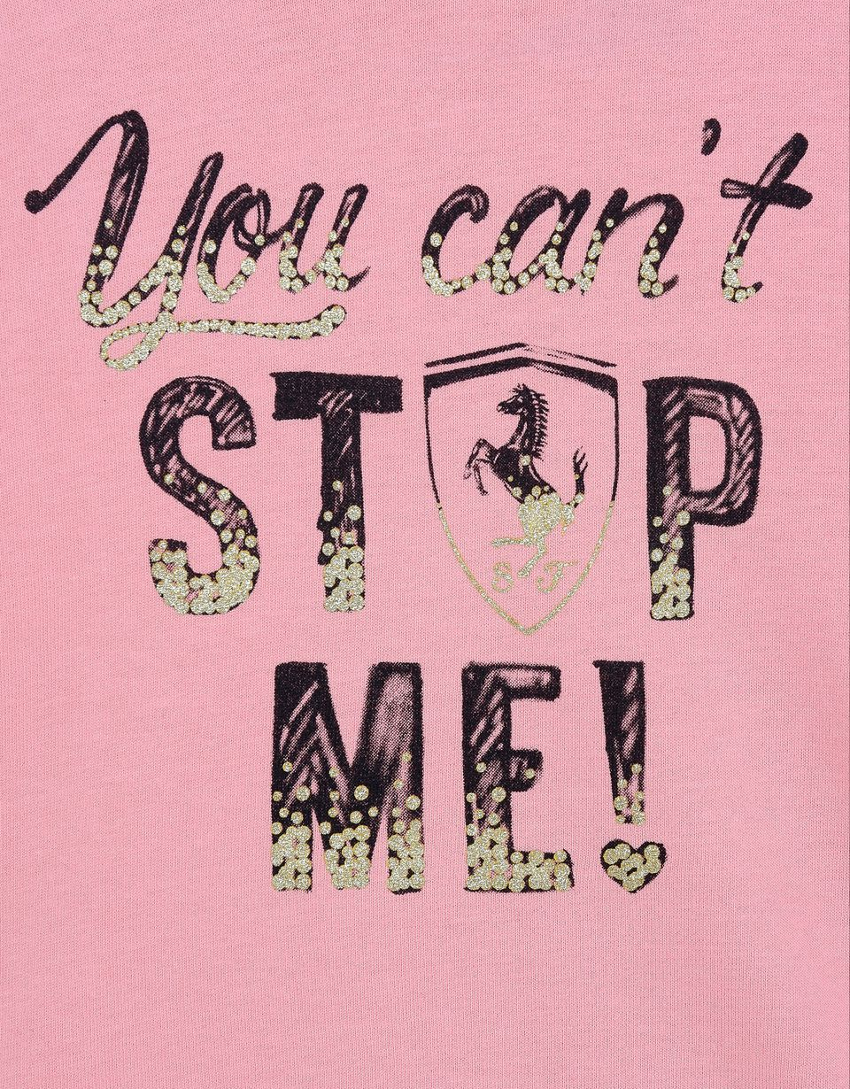 "Scuderia Ferrari Online Store - Girls' ""You can't stop me!"" sweatshirt - Long Sleeve T-Shirts"
