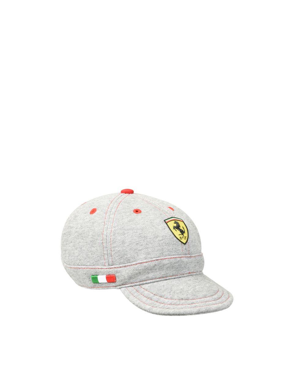 Scuderia Ferrari Online Store - 新生儿盾形徽标平纹针织棒球帽 - 帽子