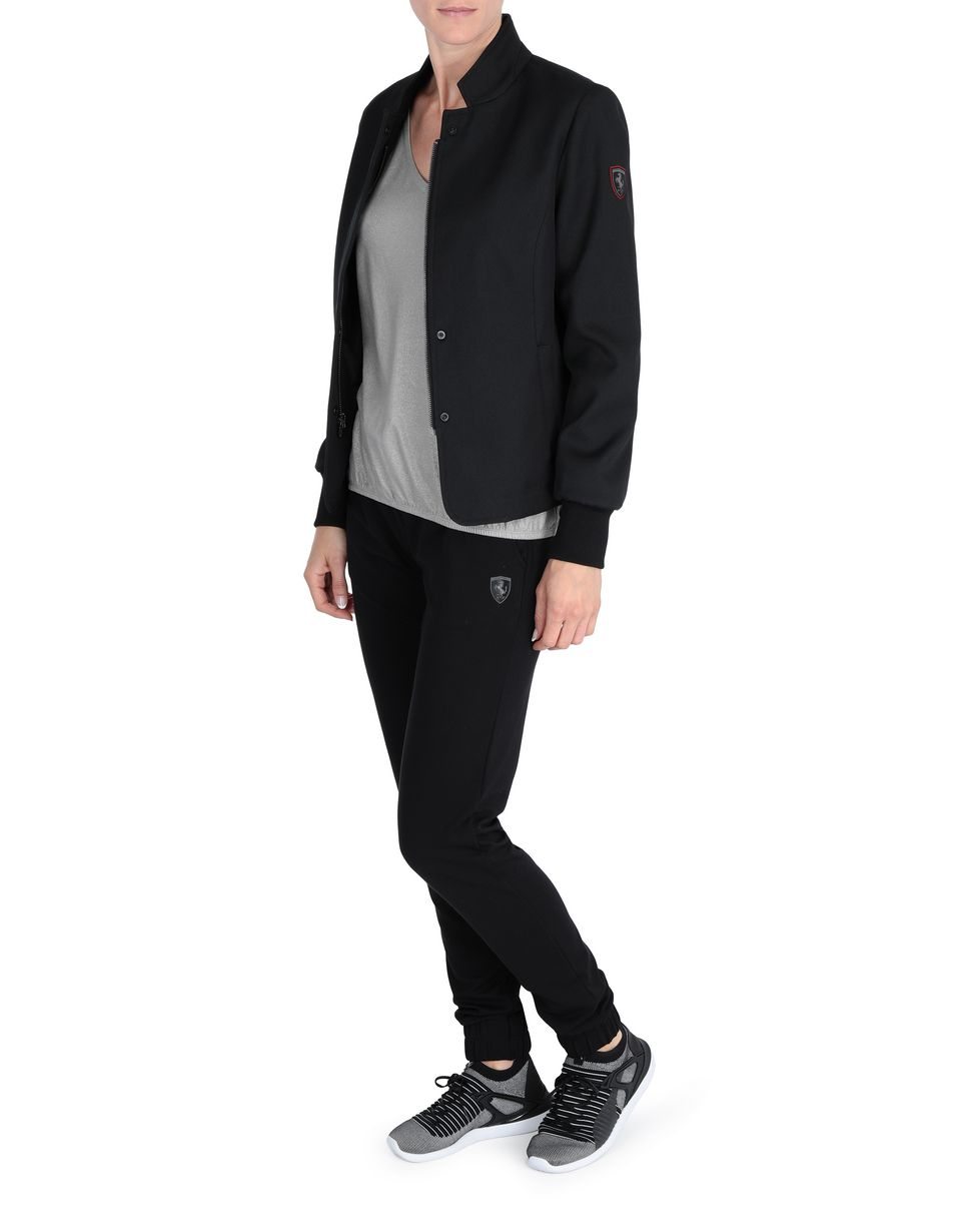 Scuderia Ferrari Online Store - Women's blazer in technical fabric. - Blazers
