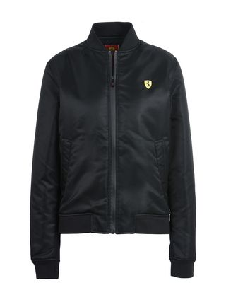 Scuderia Ferrari Online Store - Women's bomber jacket with zippers - Bombers & Track Jackets