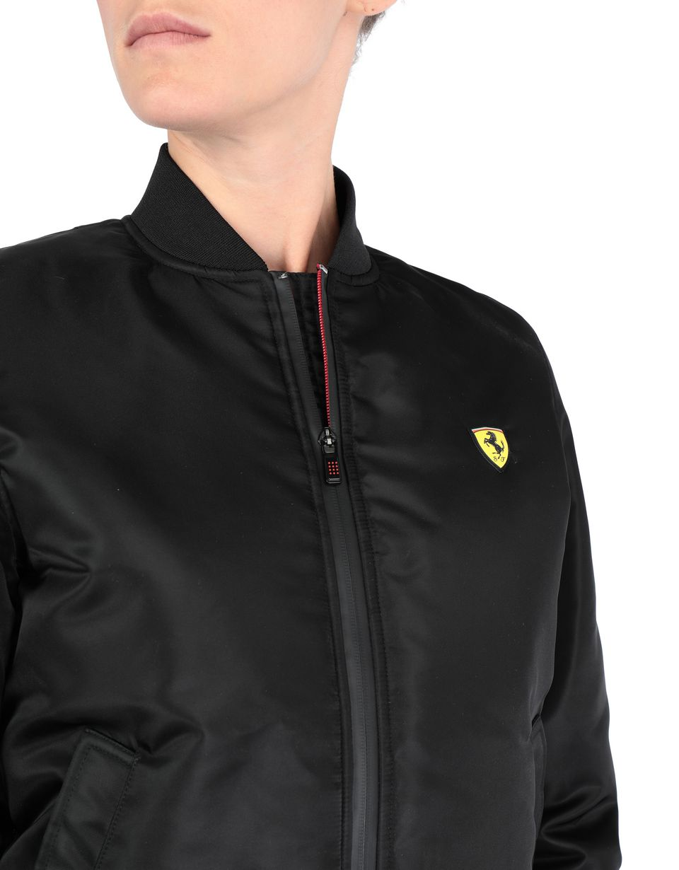 Scuderia Ferrari Online Store - Women's bomber jacket with zip -