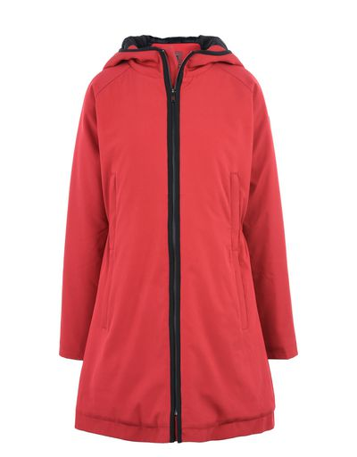 Scuderia Ferrari Online Store - Hooded and padded women's jacket -