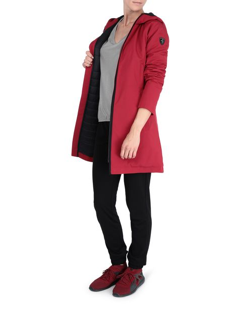 Women's padded jacket with hood