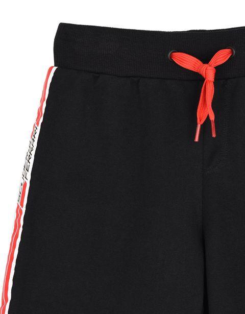 Scuderia Ferrari Online Store - Children's shorts with <i>Icon Tape</i> -