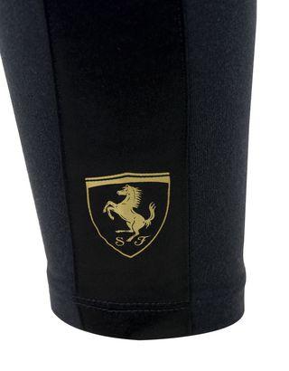 Scuderia Ferrari Online Store - Girls' leggings with satin applique - Tights & Yoga Pants