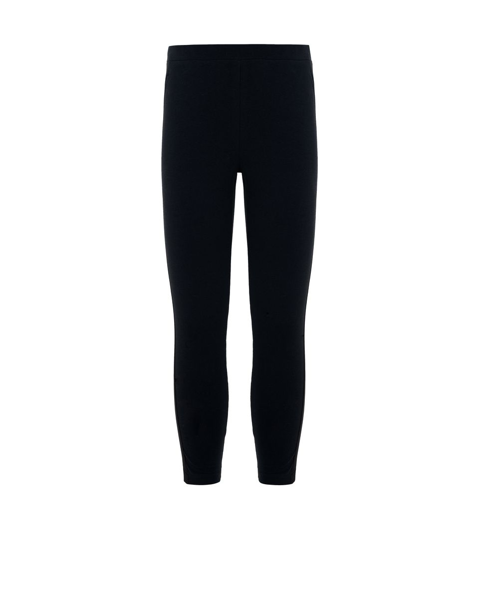 Scuderia Ferrari Online Store - Girls' leggings with satin applique - Tights & Yoga Pants