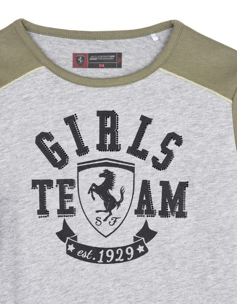 "Scuderia Ferrari Online Store - ""Girls Team"" girls' dress - Short Dresses"