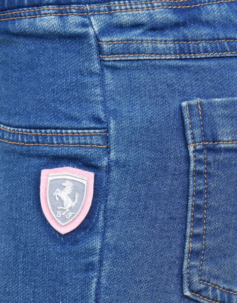 Scuderia Ferrari Online Store - Girls' jeggings with Shield -