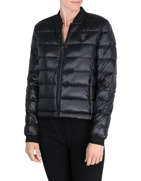 Packaway women's down jacket with real down
