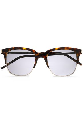 436ccab6d818 MARC JACOBS D-frame tortoiseshell and gold-tone sunglasses