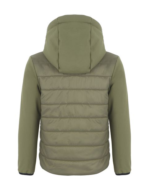 Nylon and softshell children's jacket