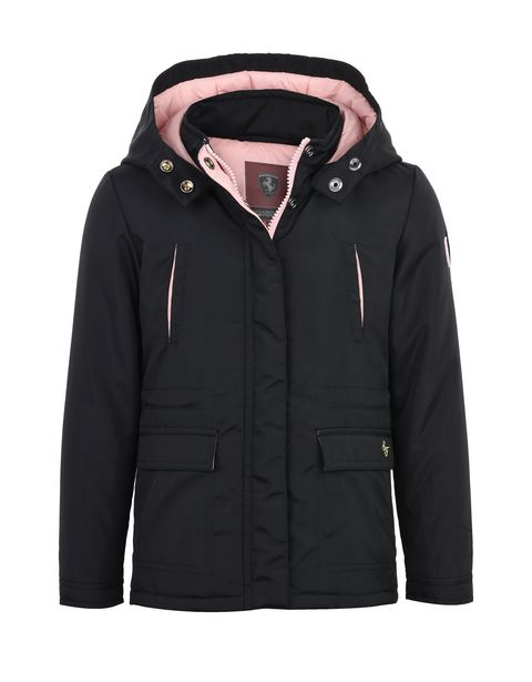 Girls' water-resistant padded parka