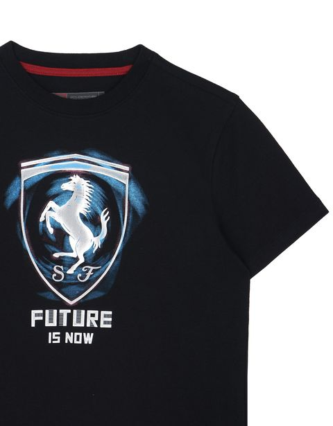 "Scuderia Ferrari Online Store - Kinder-T-Shirt ""Future is now"" - Kurzärmelige T-Shirts"