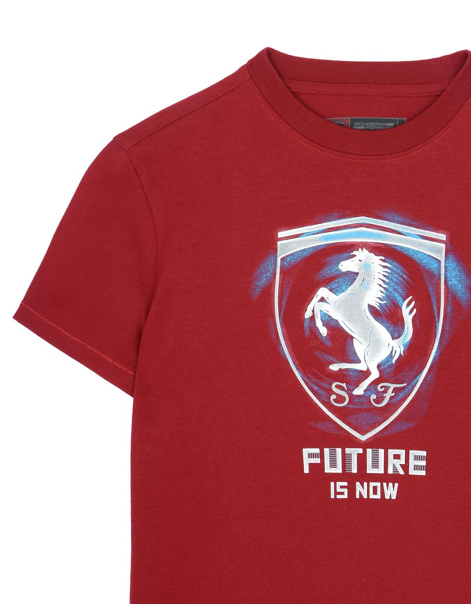 "Scuderia Ferrari Online Store - ""Future is now"" children's T-shirt -"