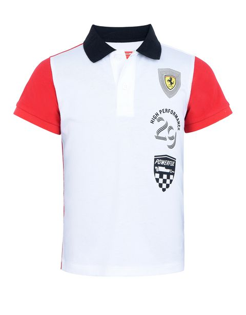 Polo junior en jersey de coton