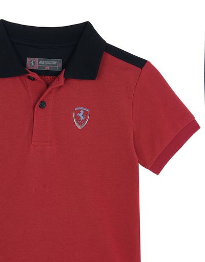 Scuderia Ferrari Online Store - Girls' fleece trousers - Short Sleeve Polos