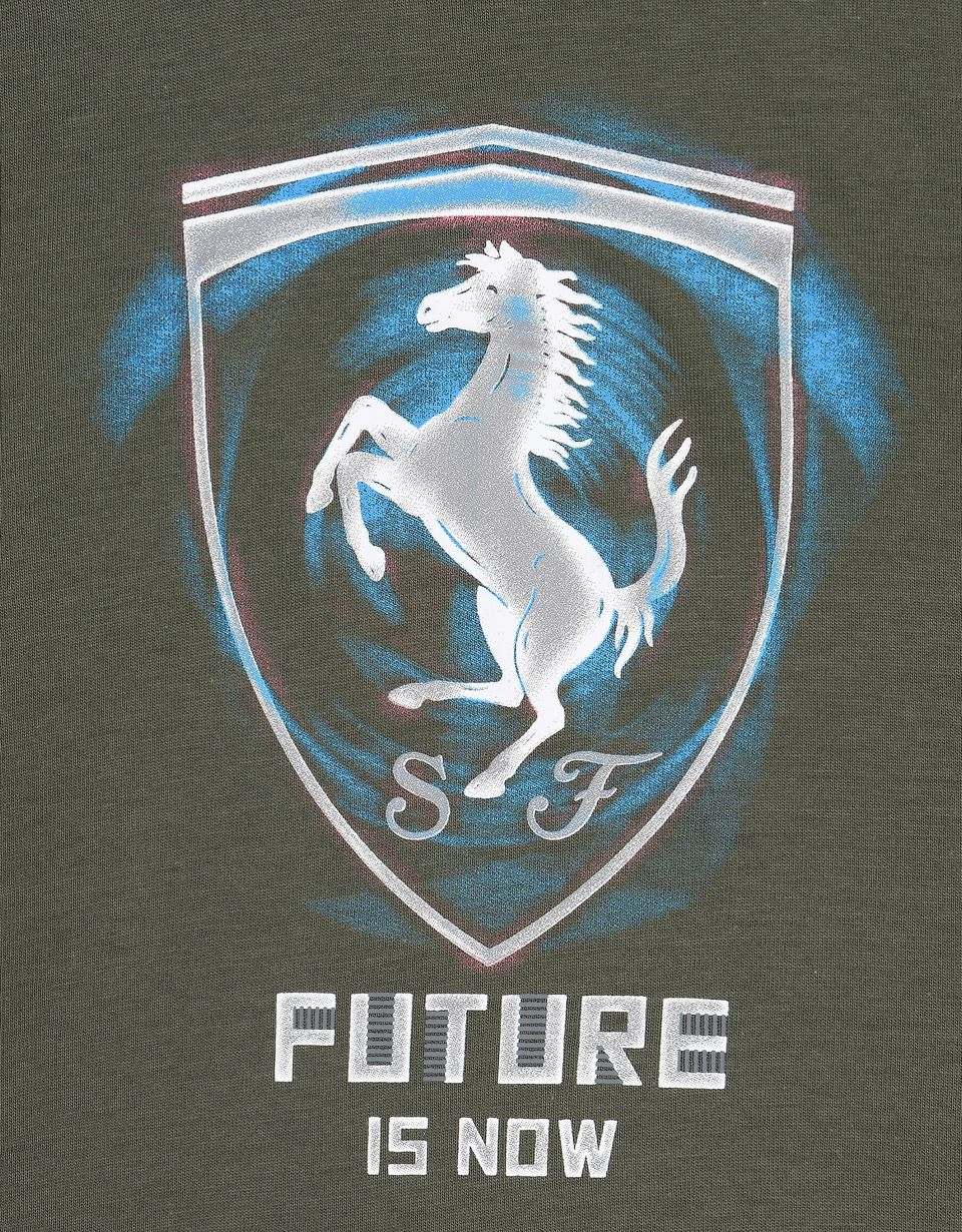 Scuderia Ferrari Online Store - T-shirt enfant « Future is now » - T-shirts à manches courtes